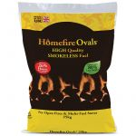 Homefire Ovals Smokeless Coal - 25kg bag