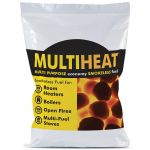 Multiheat Multi Purpose Economy Smokeless Fuel - 25kg Bag