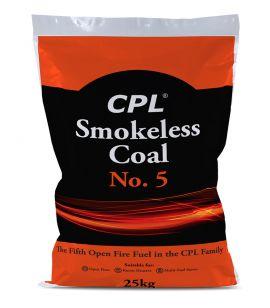 CPL Smokeless Coal No.5 - 25kg bag