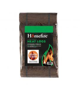 Homefire Ready to Burn Heat Logs Shimada Pack of 12