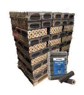 Verdo Heat Logs (Pini-Kay Oak) - 96 pack Full Pallet