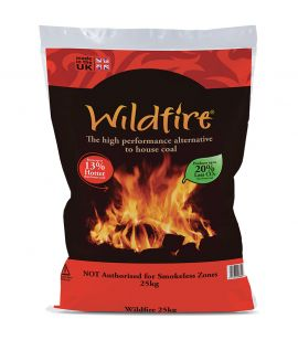 Wildfire Briquettes - The high performance alternative to House Coal